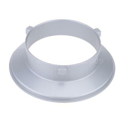Godox SA-01-BW 144mm Mounting Flange Ring Adapter for Flash Fits for Bowens P4E0