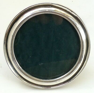Silver Mounted Frame 1917 Photo Or Picture Hallmarked Sterling