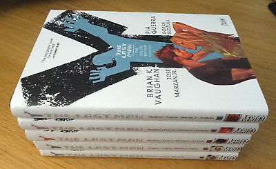 Y THE LAST MAN Deluxe Hardcover Edition Books 1 2 3 4 5 Complete DC Vertigo
