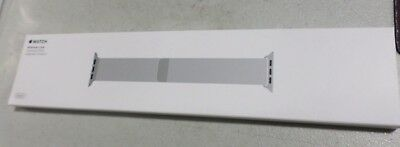 Apple Milanese Loop Band 38mm Silver for an Apple Watch