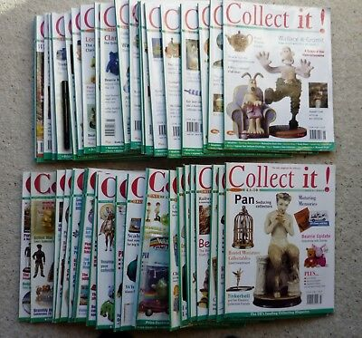 ***** 41 x COLLECT IT Magazines Issues 1 - 41 Antiques & Collectables