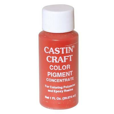 Castin Craft Casting Resin Opaque Red Pigment Dye 1Oz