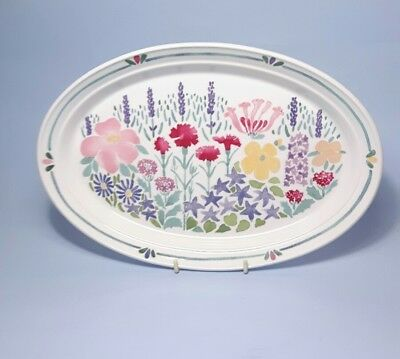 Portmeirion Julie Depledge Hidcote Oval Tray / Plate