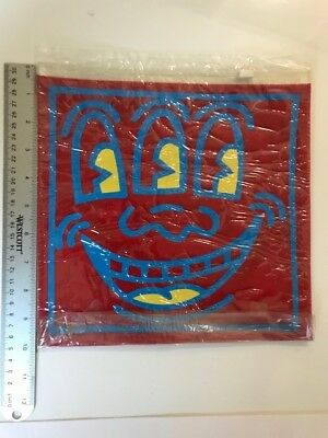 Keith Haring Pop Shop VINTAGE TOILETRY BAG - from 292 Lafayette St, NYC  Rare