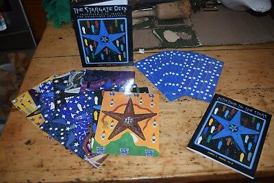The Stargate Deck Complete Tarot Like Oracle Cards and Instruction Book J. Jereb