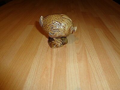 Collectable Beswick Flying Haggis Decanter 1972 Model By Hallam Gold Paper Seal