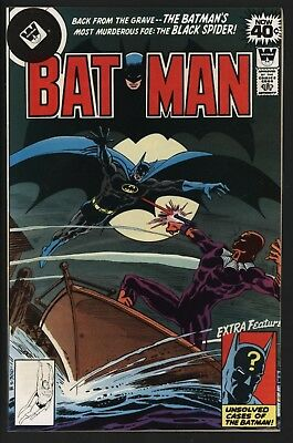 Batman #306  Whitman Variant Low Print Run With White Pages Vs Black Spider