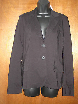 Motherhood Maternity Black Blazer Jacket Women's Size Small NWT