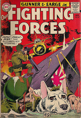 OUR FIGHTING FORCES #87 (1964) DC Comics VG+