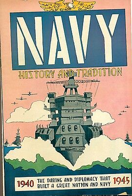 NAVY HISTORY & TRADITION 1940-1945 (1959) Stokes Walesby promotional comic VG+