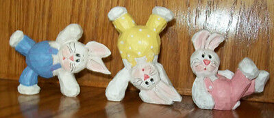 Eddie Walker Tumbling Easter Bunnies By Midwest Of Cannon Falls