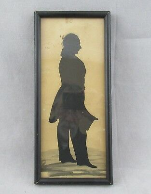 Antique 19th C. Hand Cut Silhouette James Stevenson, Albany, NY Mayor / Lawyer