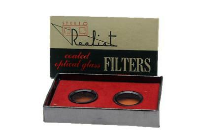 Realist Type A Filter Set for Tungsten Film in Daylight for the Stereo Cameras