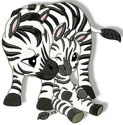 I Love Mommy Zoo 10 Machine Embroidery Designs 4 Sizes Included