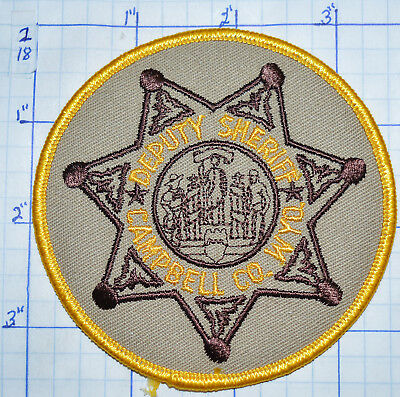 Wyoming, Campbell County Deputy Sheriff Round Patch