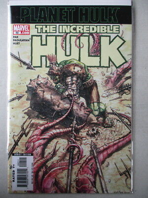 Incredible Hulk Vol. 3 (1999-2008) #92 NM+ Planet Hulk Begins