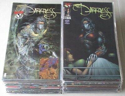 Darkness Vol. 1 #1-40, 75-100, 102-115 Incomplete (80 Comics) VF-NM