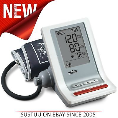 Braun BP4900 Exactfit Automatic Upper Arm Blood Pressure Monitor│Auto Shut-Off│