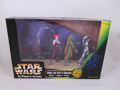 Star Wars Potf2 Jabba The Hutt´s Dancers Cinema Scene Misb
