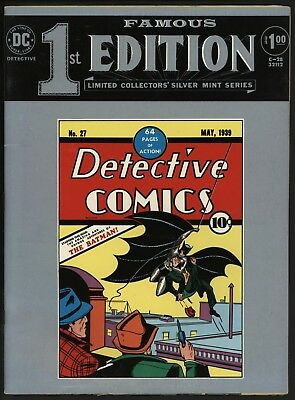 DETECTIVE COMICS #27 TABLOID REPRINTS 1st EVER BATMAN! SEE WHERE IT ALL BEGAN...