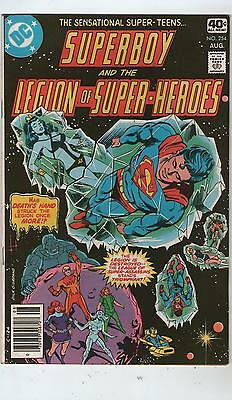 Superboy & Legion Of Super Heroes # 254 - Super Assassins  ( Scarce - 1979 )