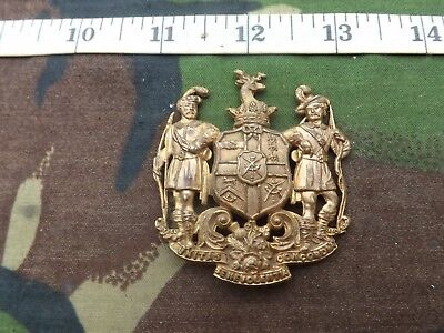 Old, Ancient Order of Foresters, Gilt Brass Badge, 4 Pin Fixing