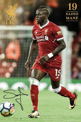 Liverpool FC Poster - Mane 17/18 - New Liverpool Football poster SP1482