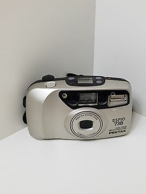 PENTAX ESPIO 738 ,  35mm FILM CAMERA,WORKING, 38-70mm AF ZOOM
