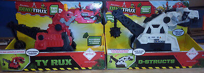 Dinotrux D-structs and Red Ty Rux Large makes sounds