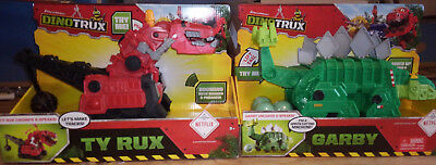 Dinotrux Garby and Red Ty Rux Large makes sounds