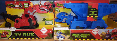 Dinotrux ton ton ton-ton and Red Ty Rux Large makes sounds
