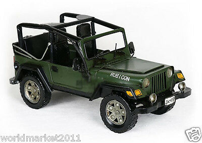 Modern Minimalist L38*W16*H16.5CM Iron Off-Road Vehicle Model Decoration &@