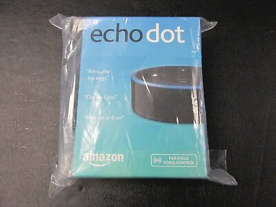 New - Amazon Echo Dot 2Nd Generation Smart Assistant - Black