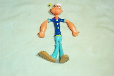 Popeye Rubber Figure 6'',1978 By King Features