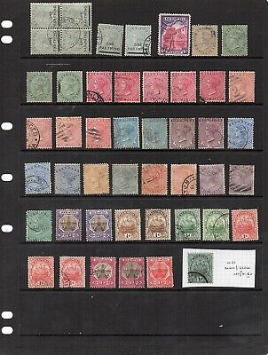 Old Used Commonwealth - Bermuda x 47 - all unchecked