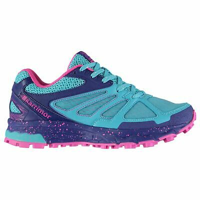 Karrimor Kids Girls Tempo 5 Trail Running Shoes Junior Lace Up Breathable Padded