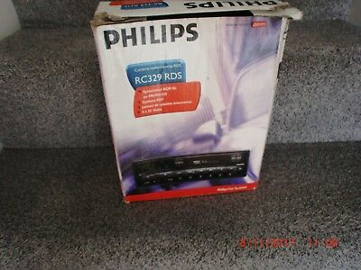 Philips Rc329 Rds Radio Cassette Player. New, Old Stock