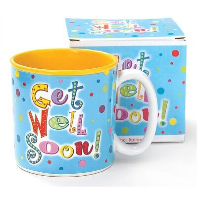 Burton + Burton GET WELL SOON Mug 13 oz Coffee Mug Product #979063 NEW