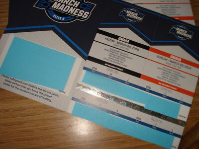 Ncaa Men's Basketball Midwest Regional Tickets Omaha Section 220 Row U Aisle