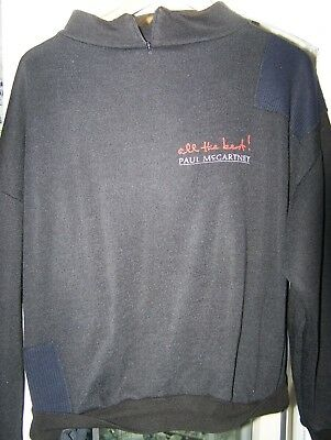 Paul McCartney [Beatles] All The Best, Promo Sweat Shirt.