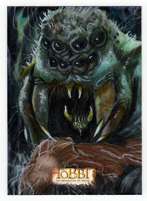 The Hobbit : The Desolation of Smaug - Javier Gonzalez Sketch Card
