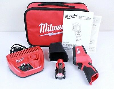 Milwaukee M12 12-Volt Cordless 7.8KP Resolution Infrared Camera Tool 2258-20