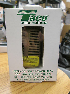 TACO REPLACEMENT POWER HEAD for ZONE VALVES #555-050RP NEW
