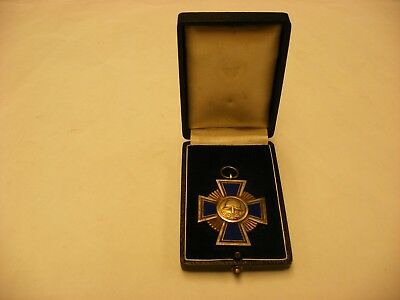 German Imperial Order WW1 Prussian Medals - Bavarian State Fireman Service Award