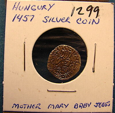 Very Old Unknown Ancient Coin ---from old Collection---Hungary???