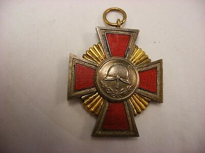 German Imperial Order WW1 Prussian Medals - Bavarian Firefighter Service