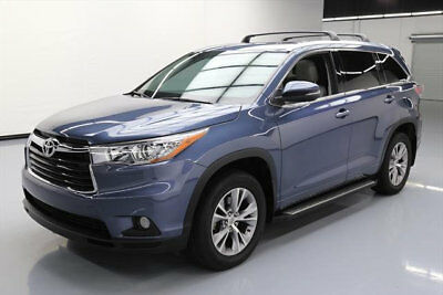 2015 Toyota Highlander  2015 TOYOTA HIGHLANDER XLE 7-PASS SUNROOF NAV 19K MILES #097671 Texas Direct