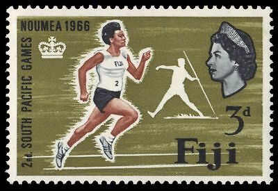 "FIJI 226 (SG356) - NOUMEA '66 South Pacific Games ""Runner"" (pf38667)"