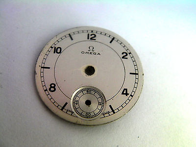 Omega Vintage Watch Silver Dial L & Co Argent 205