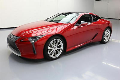 2018 Lexus LC Base Coupe 2-Door 2018 LEXUS LC500 TOURING SUNROOF NAV HUD 20'S 713 MILES #002643 Texas Direct